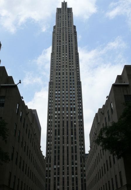 #1 Rockefeller Center opened in 1933. It was the first of a massive complex of 14 buildings entirely financed by John D. Rockefeller Jr.