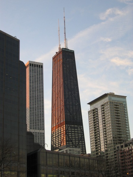 Chicago's John Hancock Center opened to tenants in 1969.