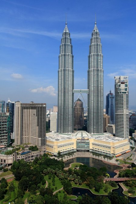 Kuala Lumpur's Petronas Towers opened in 1998, in the midst of the meltdown of Asian & Emerging Economies markets.